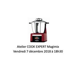 Atelier Magimix Cook Expert le vendredi 7 décembre 2018 à 18h30