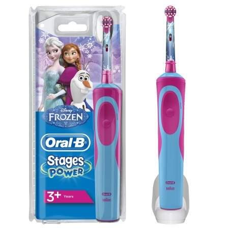 Brosse à dents ORAL-B Stages Power Frozen +3ans D12.513K