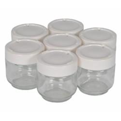 Accessoires Moulinex 7 pots en Verres A14A03 yaourtière YG231E32