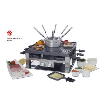SOLIS Combi Grill Raclette fondue 3 in 1 Type 796 977.21