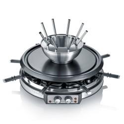Raclette et fondue Severin RG2348 Design Inox 2 en 1