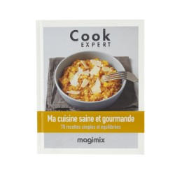 Livre Magimix 461154 Ma cuisine Saine et Gourmande