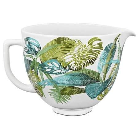 Bol floral tropical en céramique KitchenAid KSM2CB5PTF