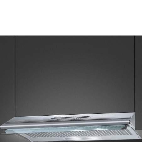 Hotte traditionnelle SMEG KSEC96XE inox 90cm