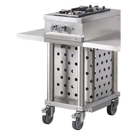Table Gaz extérieure Open'Cook by Lacanche WTG420R 2 feux