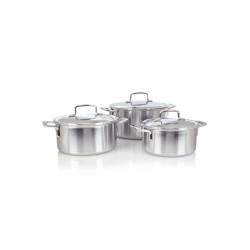 Set de cuisson 3 pièces Demeyere Intense 18,20,24 cm