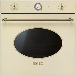 Four multifonction Smeg SFP805PO Pyrolyse Crème finition dorée