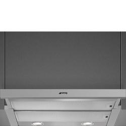 Hotte Téléscopique ou tiroir Smeg KSET666XE Maestro Inox 60 cm