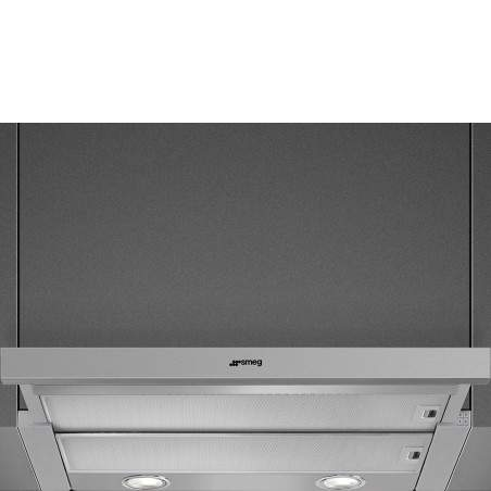 Hotte Téléscopique ou tiroir Smeg KSET666XE Inox 60 cm