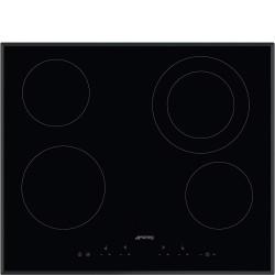 Taque de cuisson vitrocéramique SMEG SE364ETB largeur de 60 cm