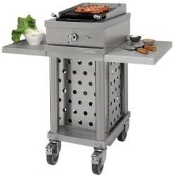 Grill gaz extérieur Luxe WTG410CKG Open'Cook by Lacanche Inox