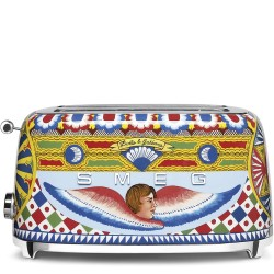 Grille-pain Smeg Dolce - Gabbana Sicily is my love TSF02D-G
