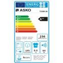 Sèche-linge avec pompe à chaleur Asko T208H.W 8Kg A++