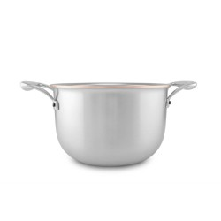 Casserole en cuivre Falk Copper Core Induction Diam 20 cm