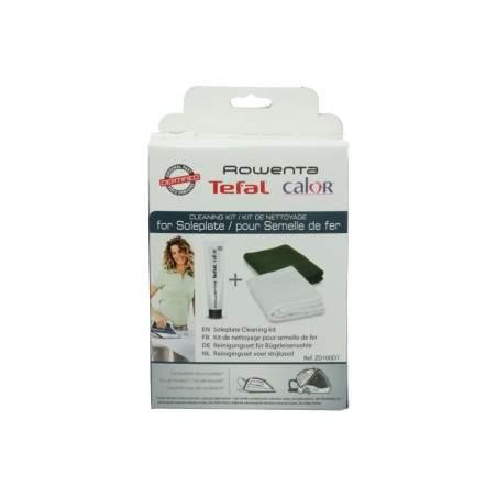 Kit de nettoyage pour semelle de fer Calor, Rowenta ZD100D1