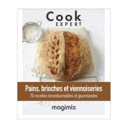 Livre Magimix 461244 Pains, Brioches et Viennoiseries