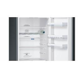 Réfrigérateur Combiné Siemens KG39NXB35 Inox Noir No Frost A++