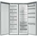 Réfrigérateur Armoire Whirlpool SW8 AM2C XR2 inox A++