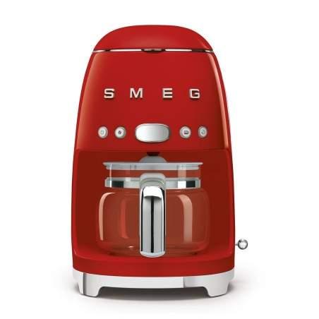 Cafetière à filtre SMEG Années'50 DCF02RDEU Rouge