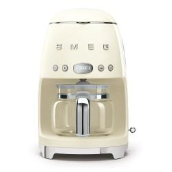 Cafetière à filtre SMEG Années'50 DCF02CREU Crème