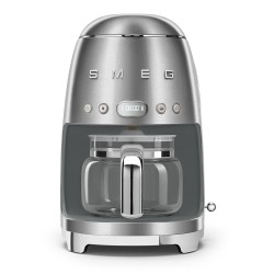 Cafetière à filtre SMEG Années's50 DCF02SSEU Inox brossé