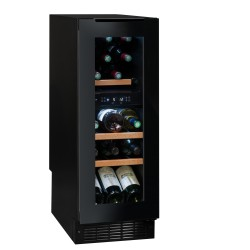 Cave à vins sous plan Avintage AVU18TDZA Noir 17 bouteilles