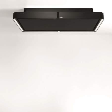 Hotte plafond Novy à recyclage Cloud 232 110cm Noir
