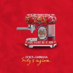 Machine à Café Expresso SMEG Dolce - Gabbana ECF01DGEU