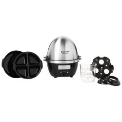 Cuit oeufs Cuisinart CEC10E Multifonctions noir et inox