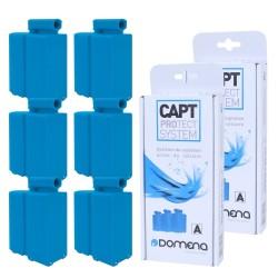 Pack de 6 cassettes Domena anti-calcaire pour centrales vapeur