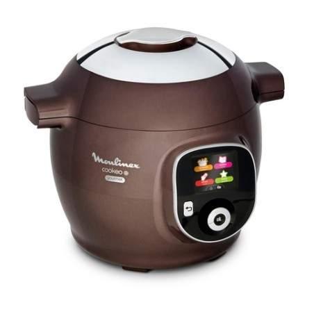 Multicuiseur Cookeo + Gourmet Moulinex CE852900 150 recettes