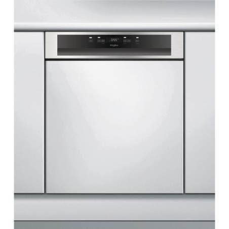 Lave-vaisselle full intégré Whirlpool WBC3C24 PX Bandeau inox
