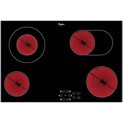 Taque vitrocéramique AKT8360LX 77cm zones extensibles