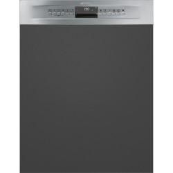 Lave-vaisselle Smeg Intégrable avec bandeau PL4326XDE Inox