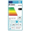 Sèche-linge Asko pompe chaleur T411HDW 11 Kg Blanc