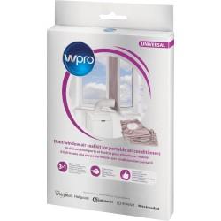 Kit d'évacuation porte-fenêtre pr climatiseur mobile WPRO CAK002