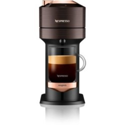 Machine à café Nespresso Magimix11708B Vertuo Next premium marron