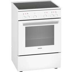 Cuisinière vitrocéramique Siemens HK9P00220 IQ300 Blanc 60cm