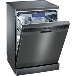 Lave-vaisselle pose libre Siemens SN258B00BE Black inox IQ500 60
