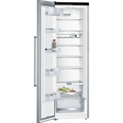 Réfrigérateur monoporte pose libre Siemens KS36VAIDP inox 186cm