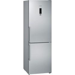 Réfrigérateur combiné Siemens No Frost KG36N7EIP inox IQ300 A++