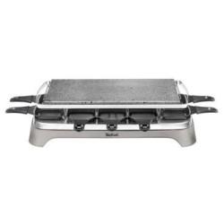 Raclette pierrade Tefal PR457B12 Inox - Design