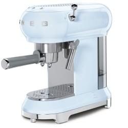 Machine à Café Expresso Smeg Années'50 ECF01PBEU Bleu pastel