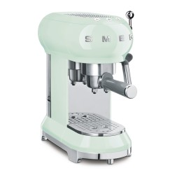 Machine à Café Expresso Smeg Années'50 ECF01PGEU Vert d'eau