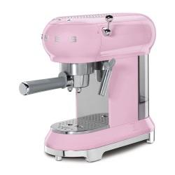 Machine à Café Expresso Smeg Années'50 ECF01PKEU Rose