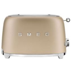 Grille-pain Smeg Années'50 TSF01CHMEU Champagne mat