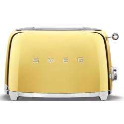 Grille-pain Smeg Années'50 TSF01GOEU Or