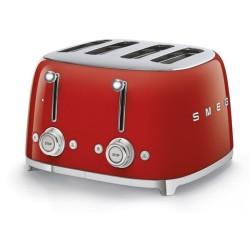Grille-pain Smeg Années'50 TSF03RDEU Rouge 4 tranches