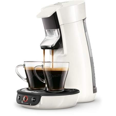 Machine à café Senseo VIVACAFE blanche HD6563/00