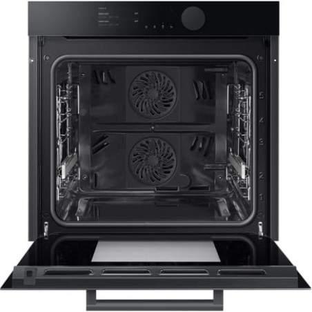 Four Samsung Infinite Line NV75T8579RK/EF Dual Cook Onyx Black